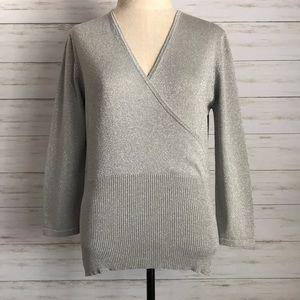 POPPY silver sweater